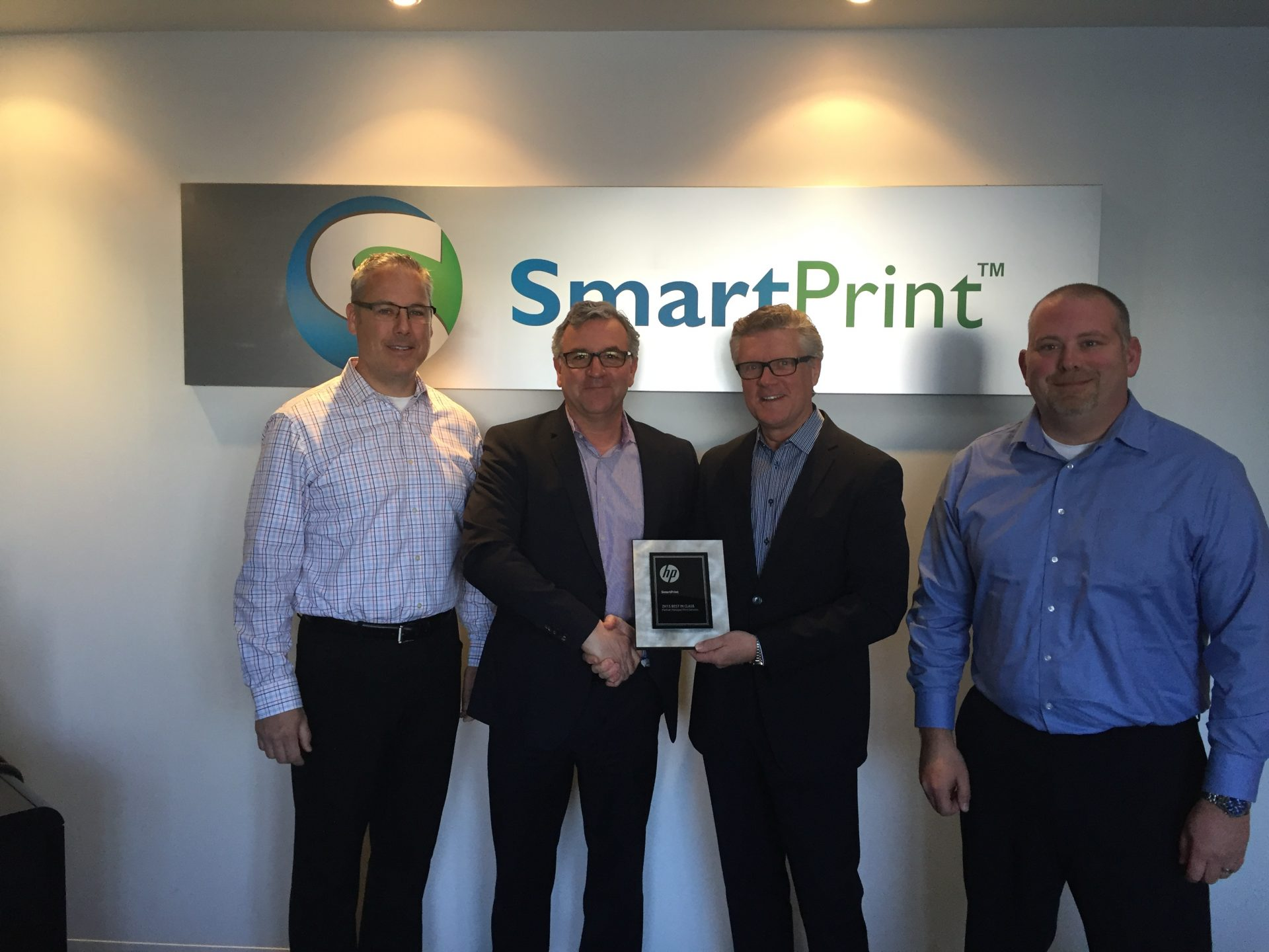 SmartPrint Inc. is awarded as HP Best In Class Partner in Managed Print Services for Canada
