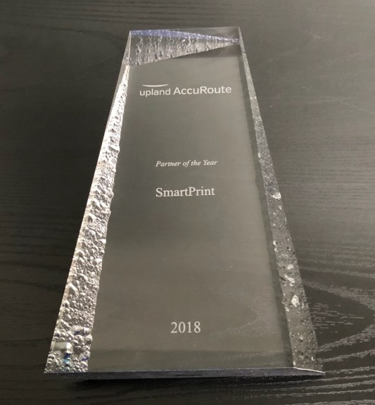 SmartPrint Inc. Wins the Upland Partner of the Year Award for the 2nd Consecutive Year!